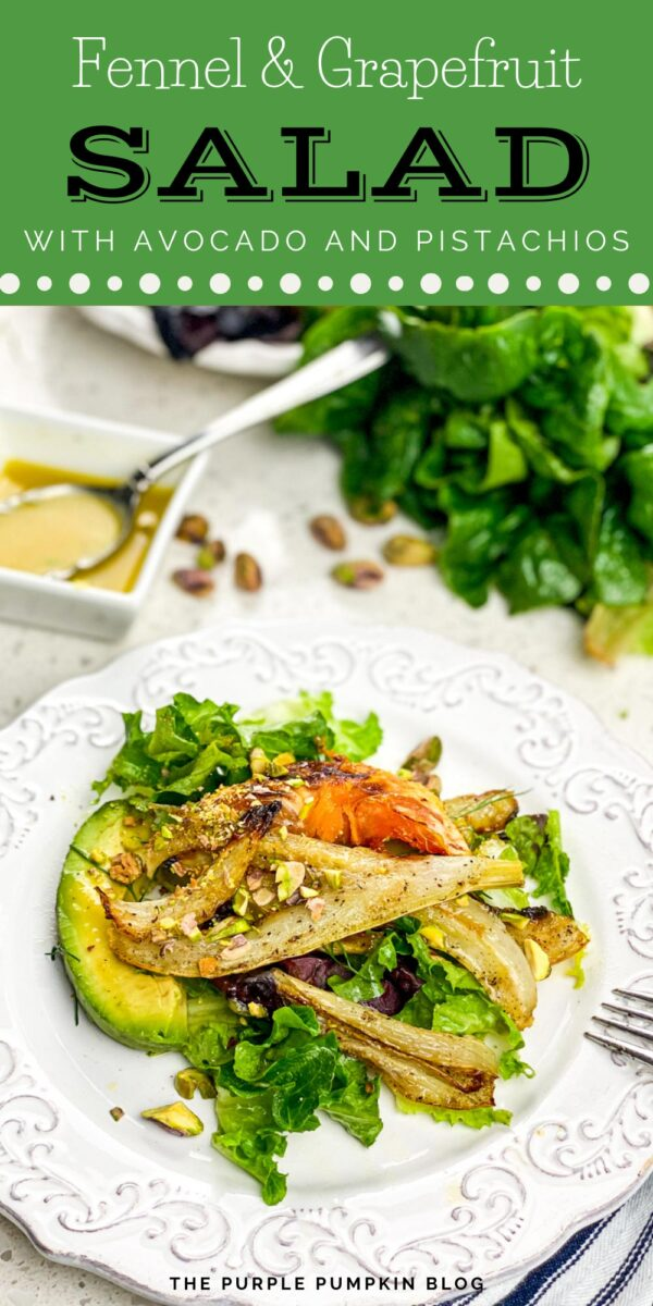 Fennel & Grapefruit Salad with Avocado & Pistachios
