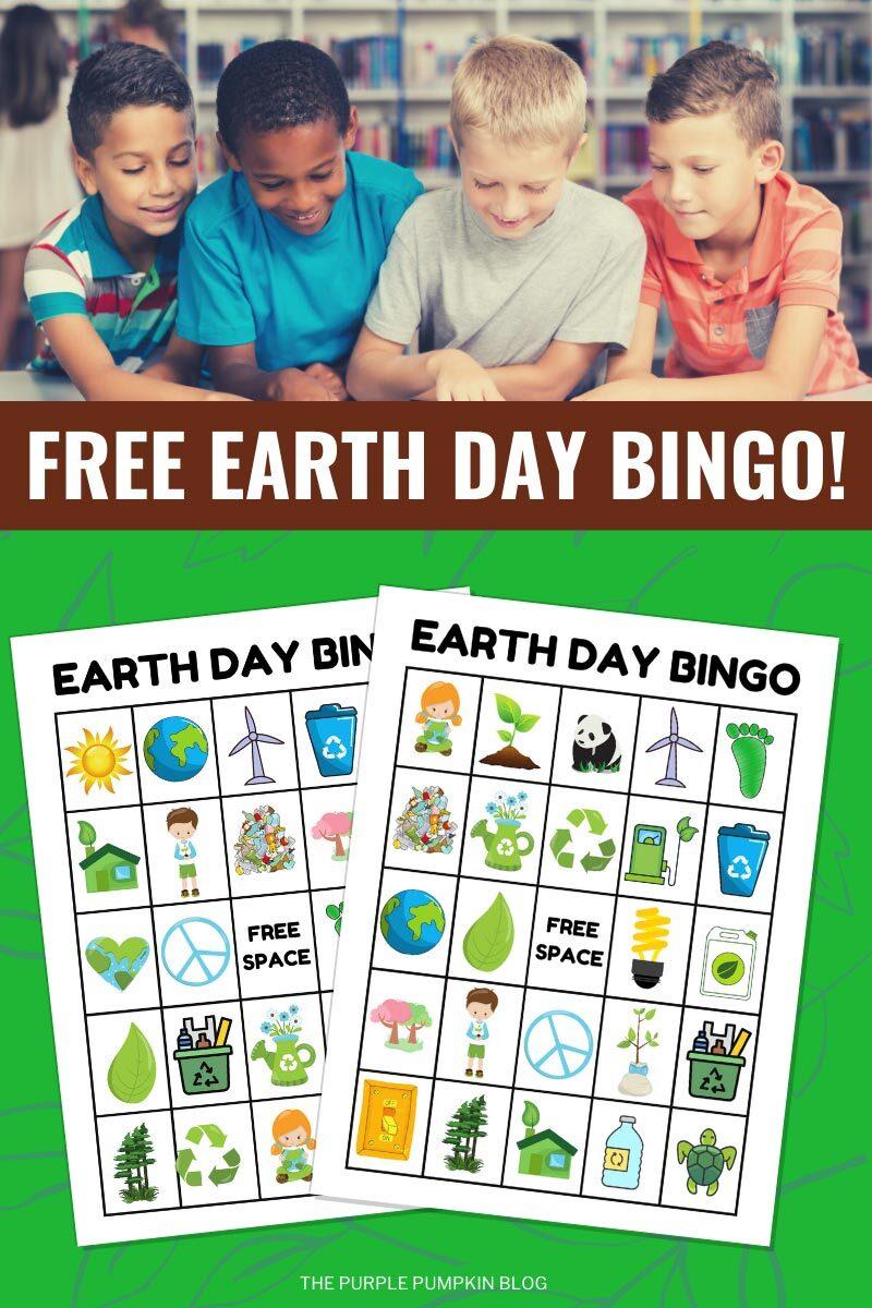 Free Earth Day Bingo