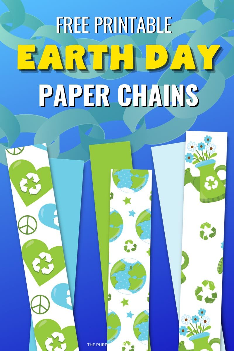 Free Printable Earth Day Paper Chains
