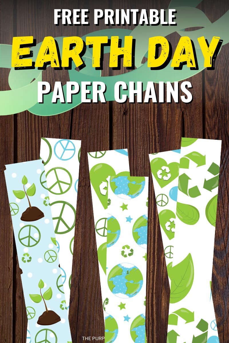 Free Printable Paper Chains for Earth Day