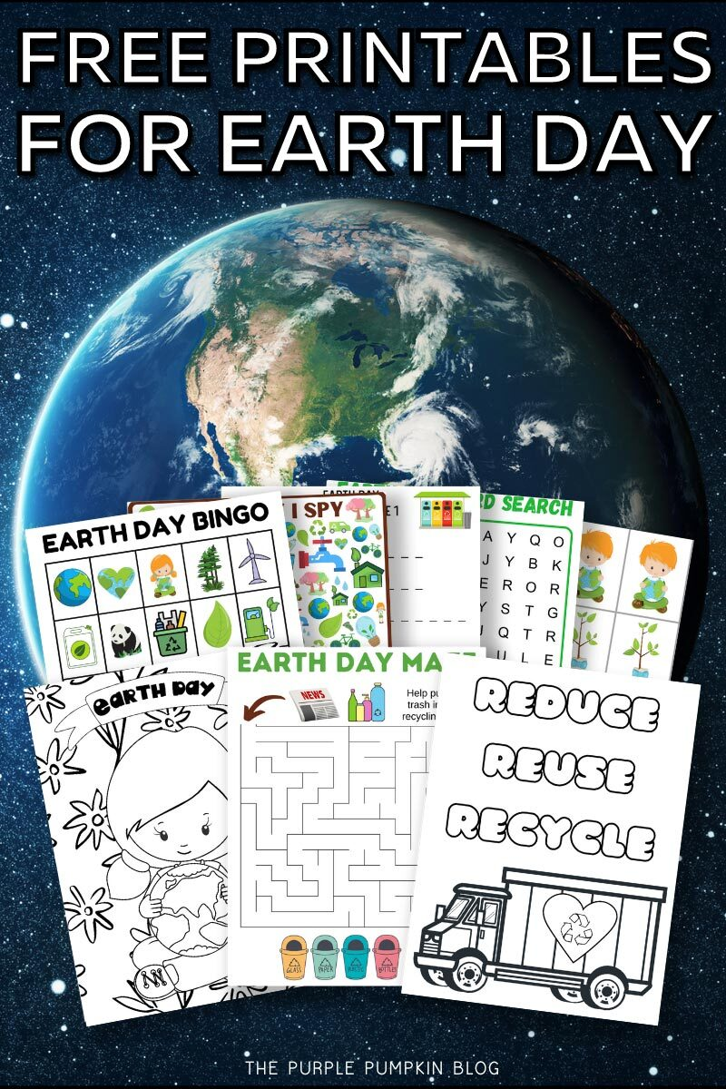 Free Printables for Earth Day