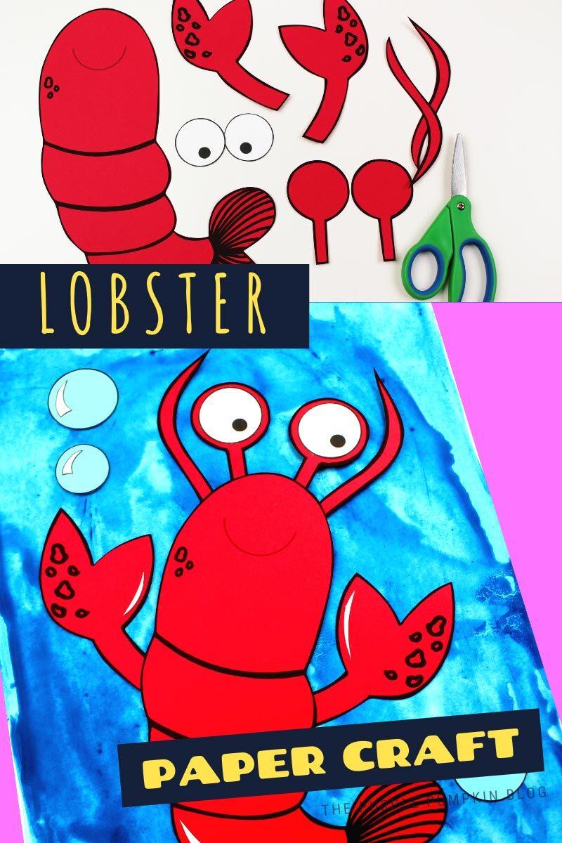 Fun Lobster Paper Craft