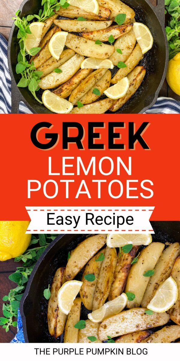 Greek Lemon Potatoes (Easy Recipe)
