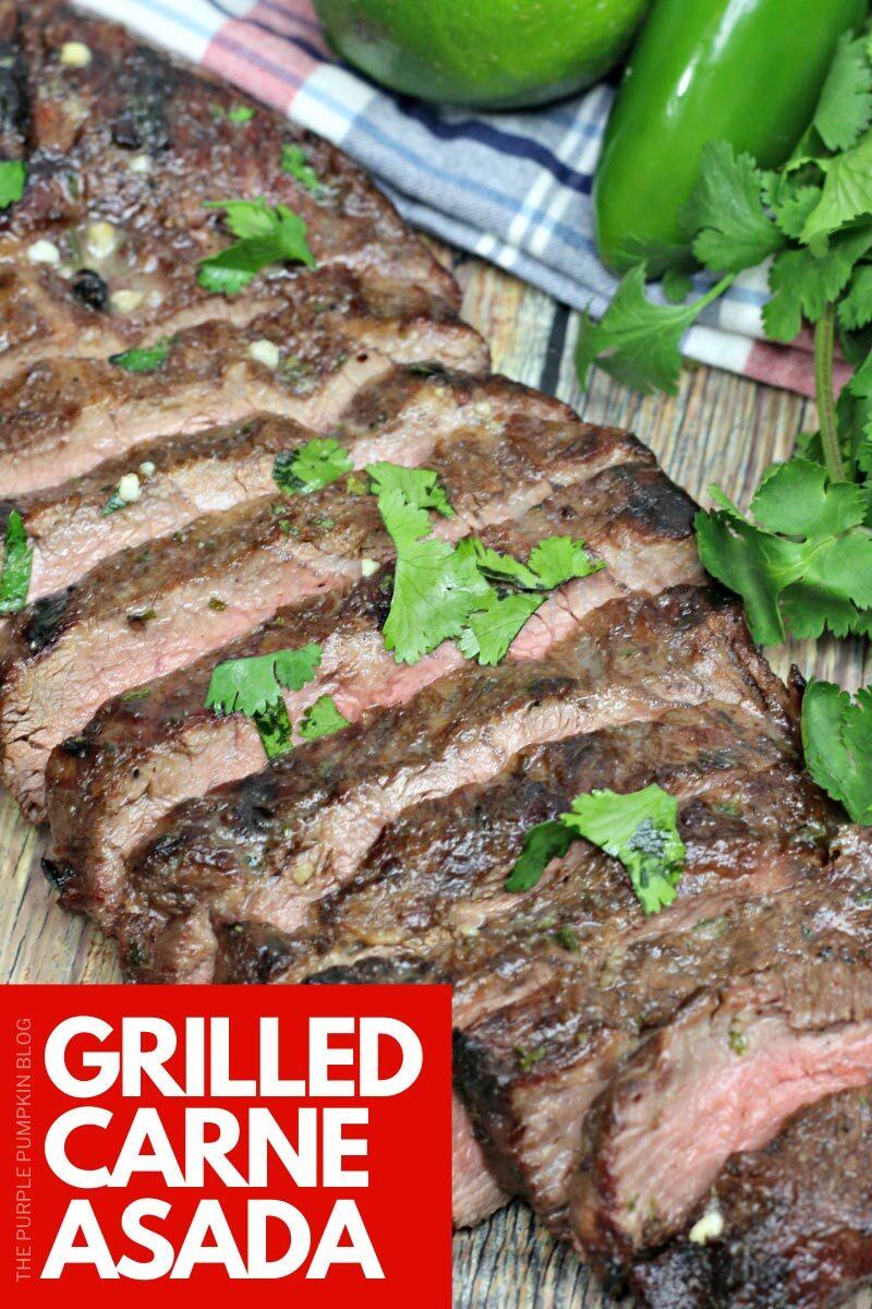 Grilled Carne Asada Recipe