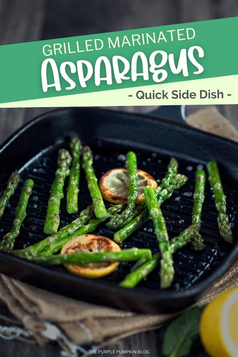 Grilled Marinated Asparagus (Quick Side Dish)