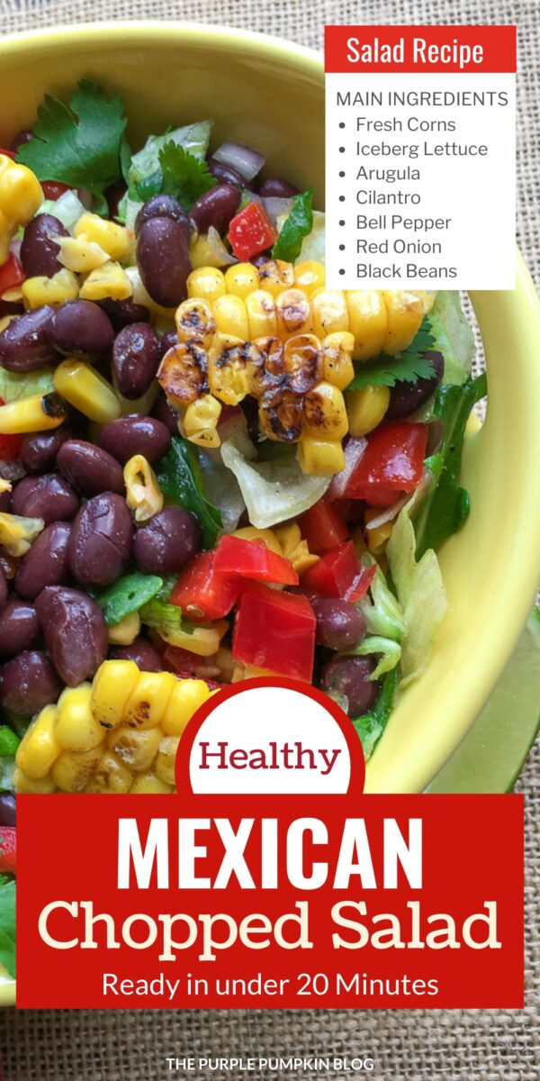 Healthy Mexican Chopped Salad