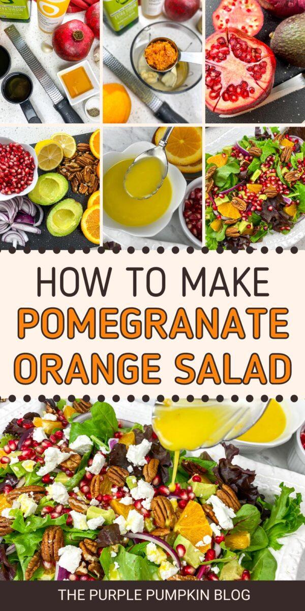 How to Make a Pomegranate Orange Salad