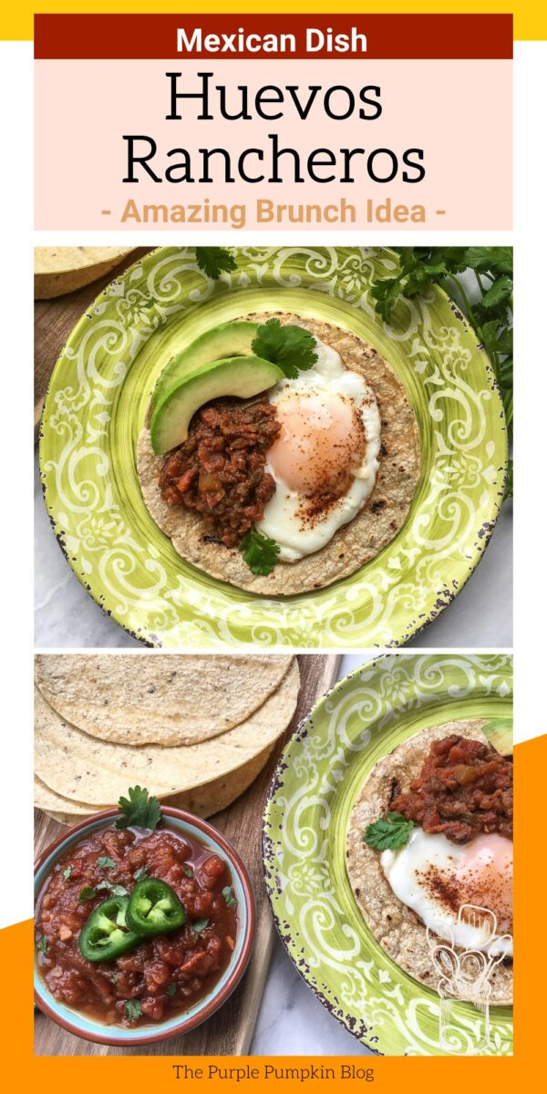 Huevos Rancheros - Mexican Brunch Idea