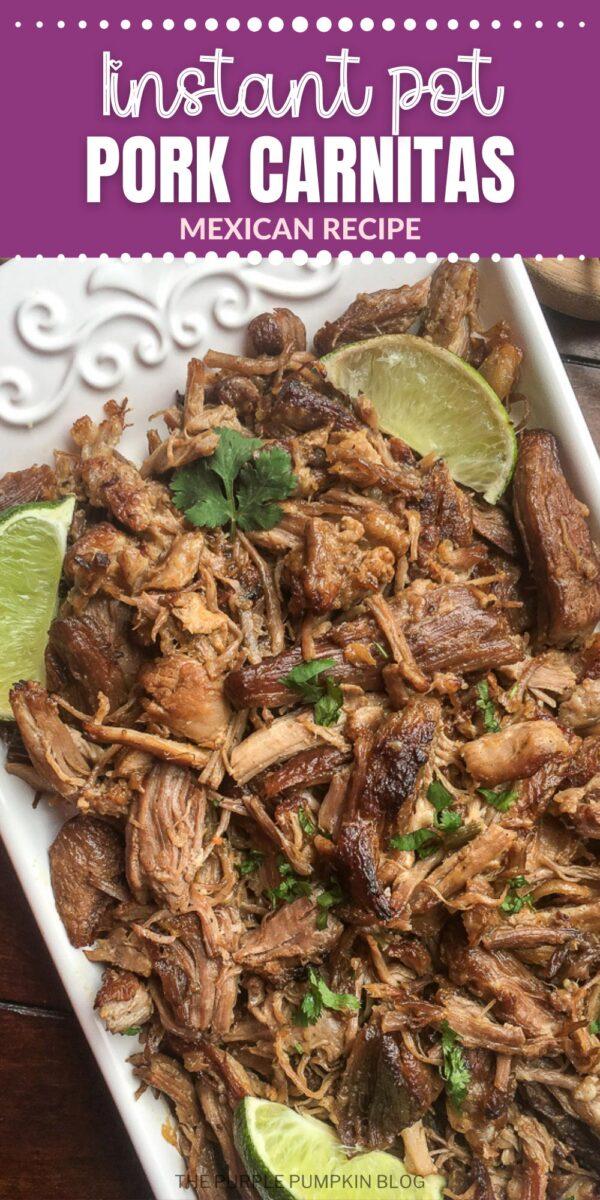 Instant Pot Carnitas Mexican Recipe