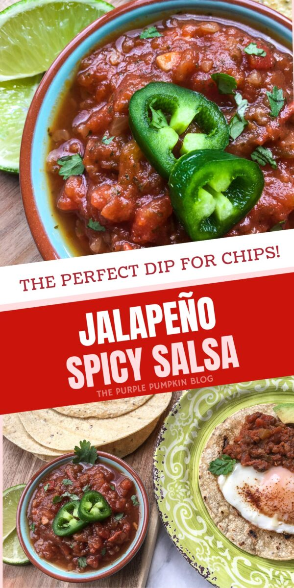 Jalapeno Spicy Salsa - The Perfect Dip for Chips