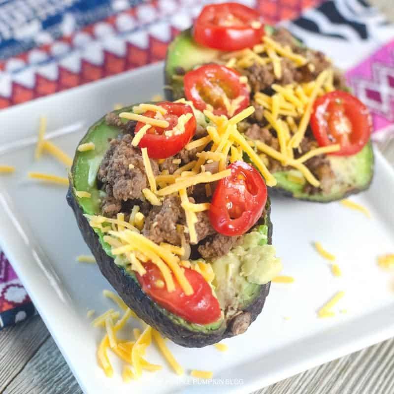 Low Carb Taco Stuffed Avocados Recipe