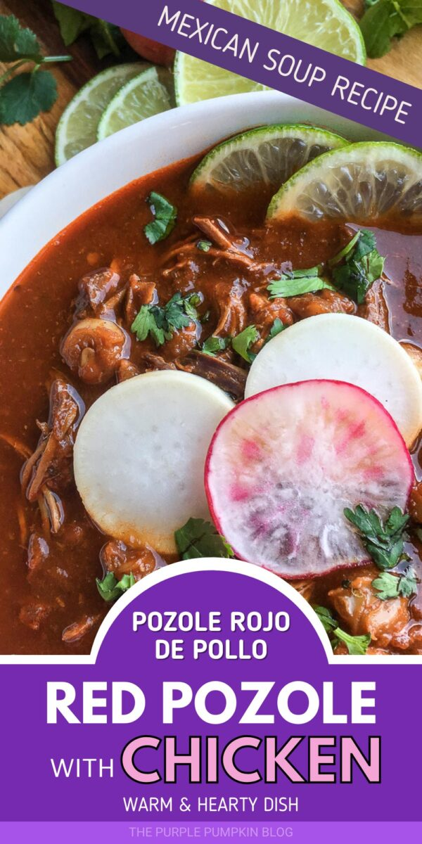 Mexican Soup Recipe - Pozole Rojo de Pollo