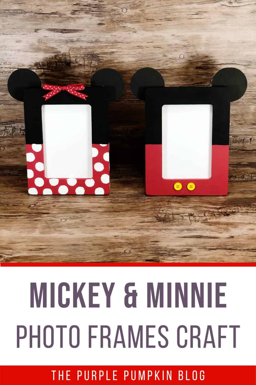 Mickey-Minnie-Photo-Frames-Craft