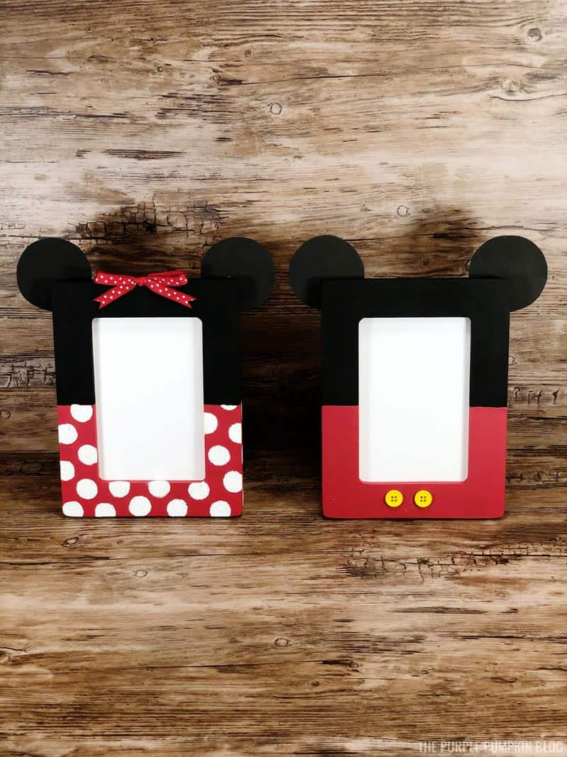 Mickey & Minnie Picture Frames Craft