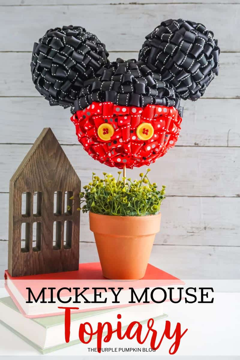 Mickey-Mouse-Topiary-Craft