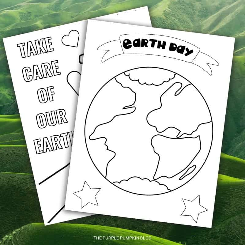 Printable Earth Day Coloring Sheets