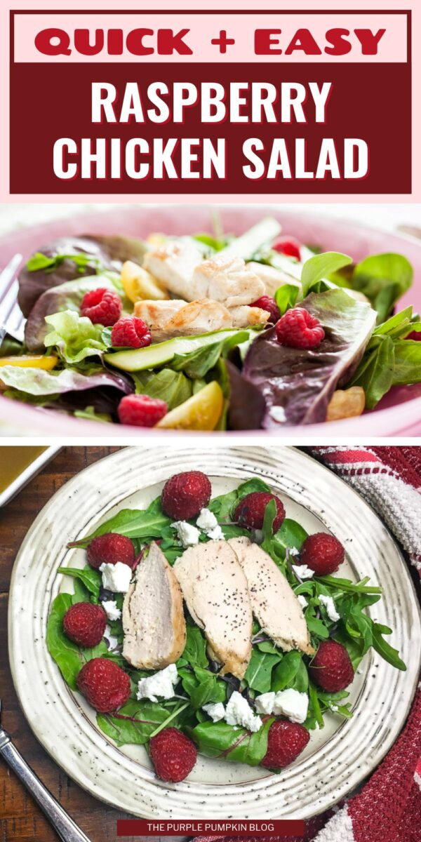 Quick & Easy Raspberry Chicken Salad Recipe