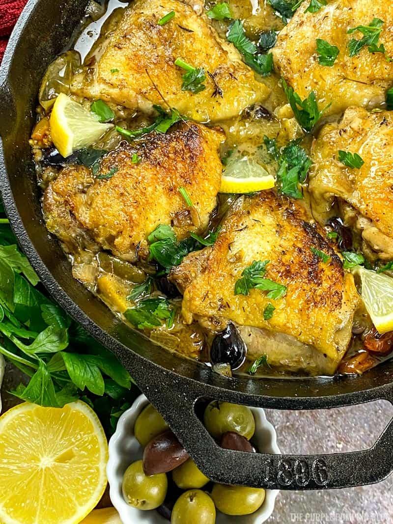 Recipe for Chicken Provencal