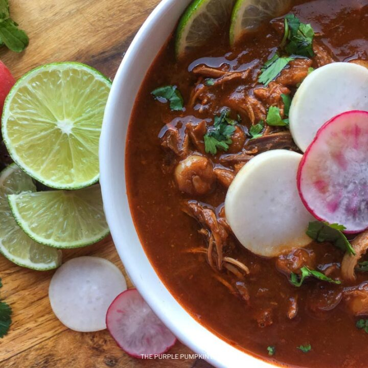 Red Pozole with Chicken Recipe