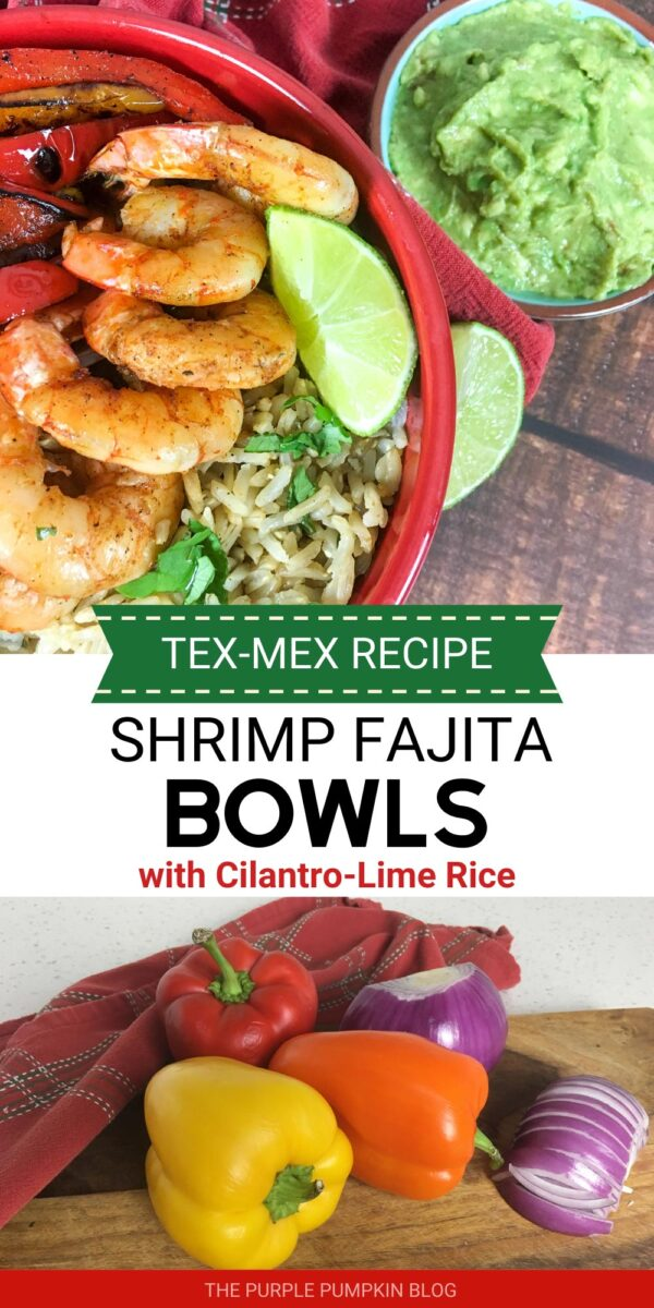 Shrimp Fajita Bowls - Tex-Mex Recipe