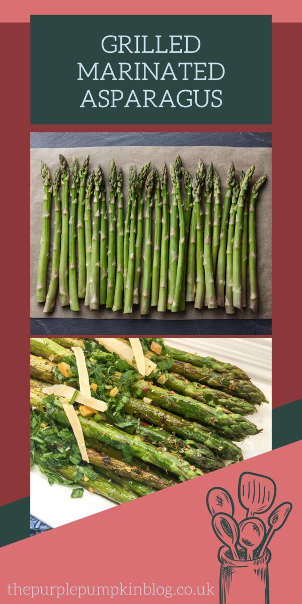 Simple & Delicious Grilled Marinated Asparagus