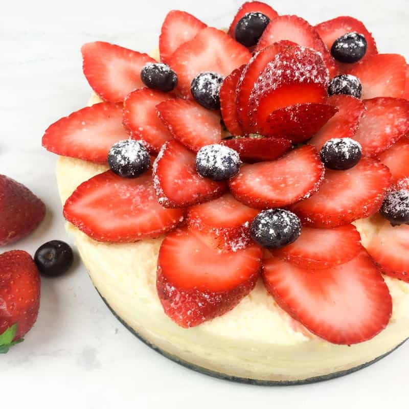 Strawberry Cheesecake in the Instant Pot
