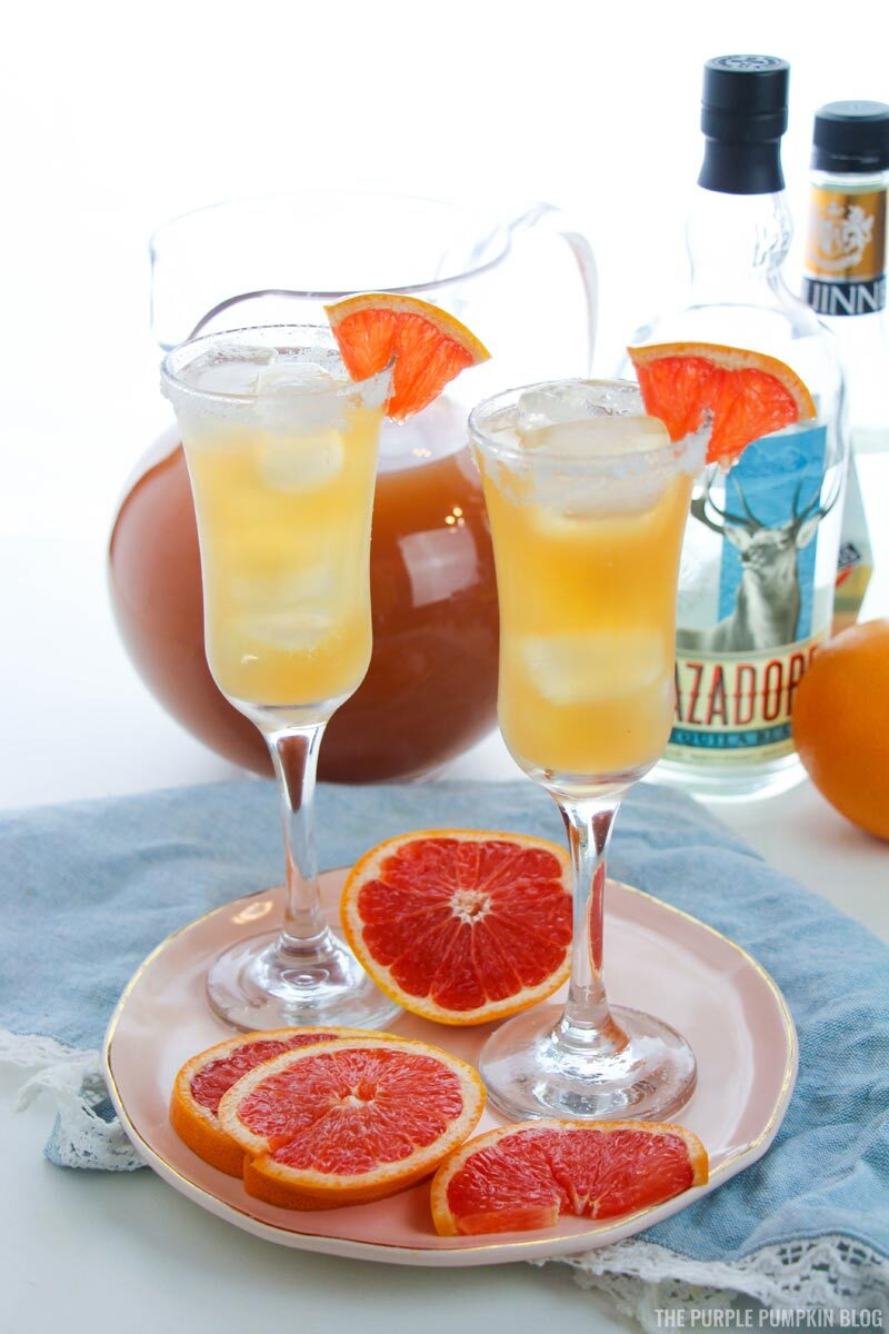 Summer Cocktail - Grapefruit Margaritas