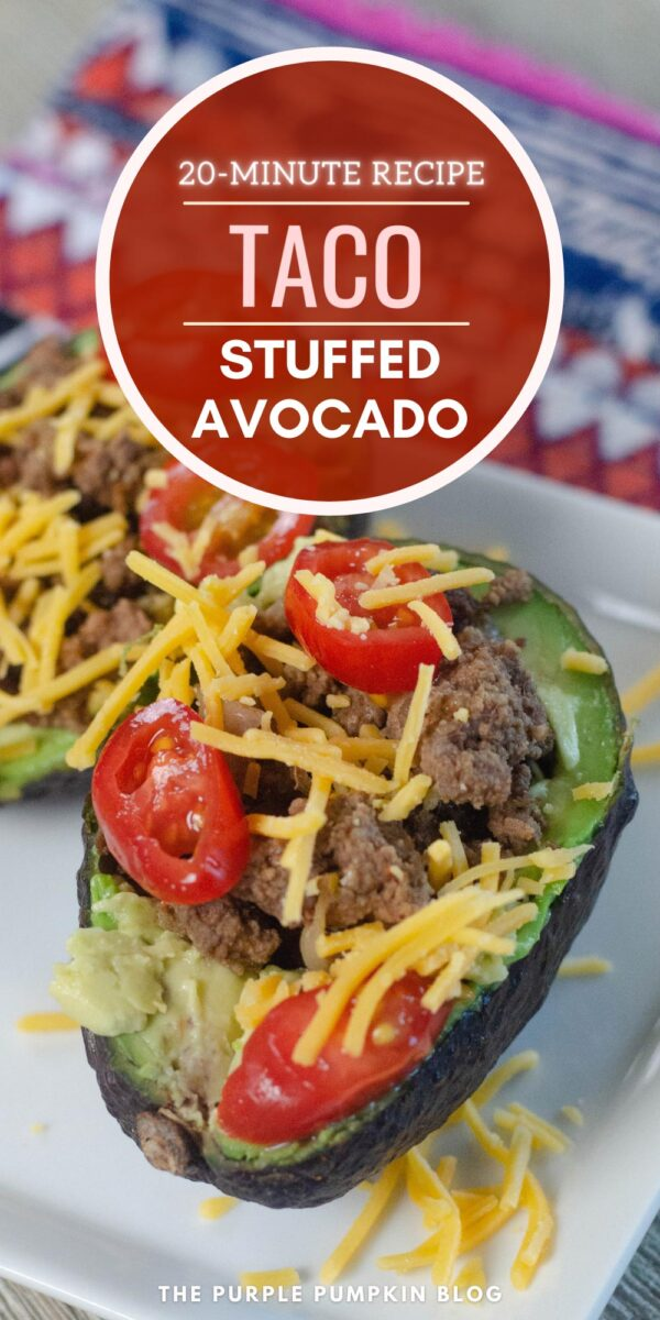 Taco Stuffed Avocado - A 20-Minute Recipe