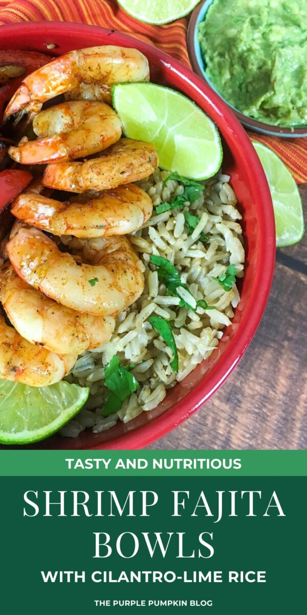 Tasty Shrimp Fajita Bowls