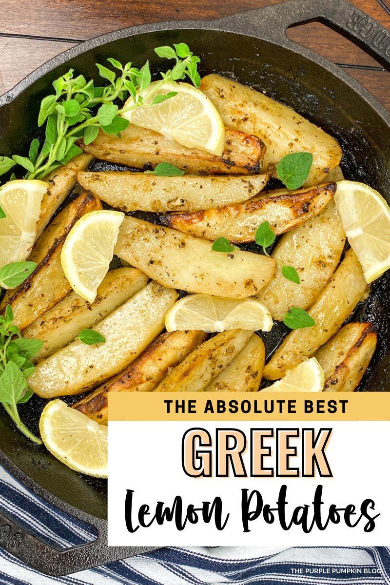 The Absolute Best Green Lemon Potatoes