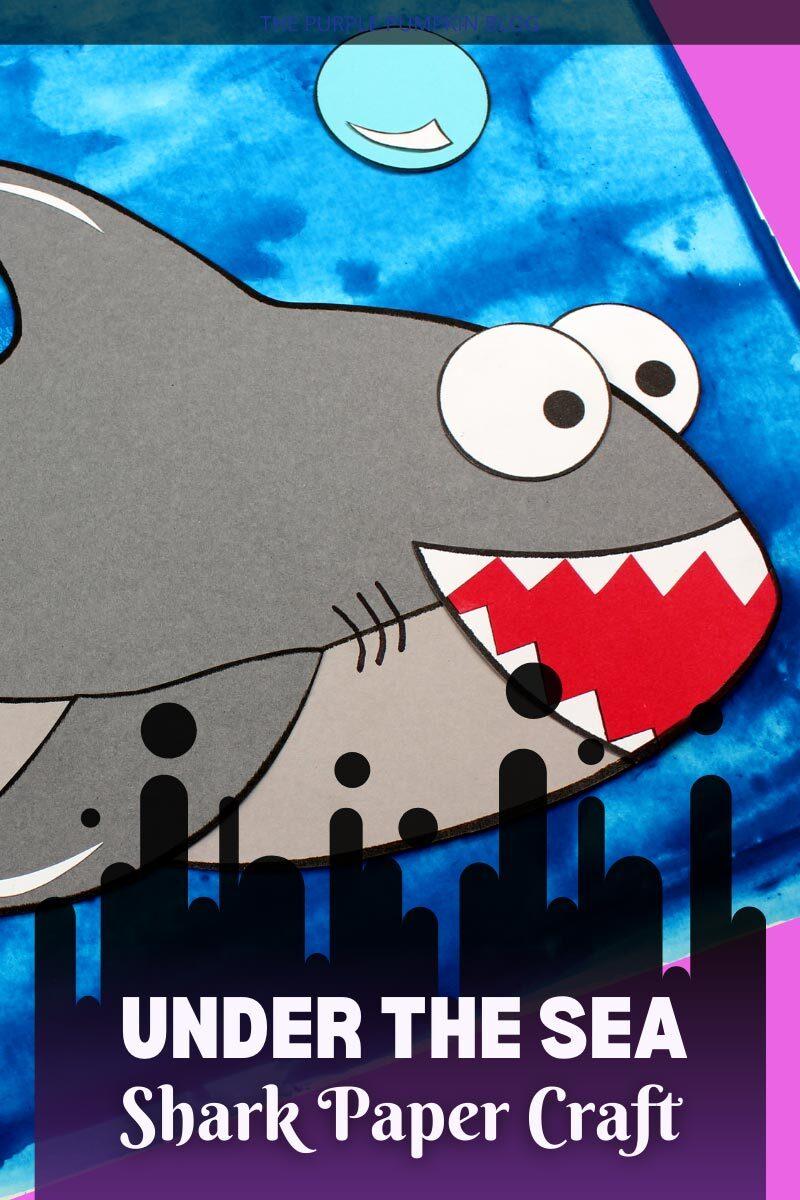 Under the Sea Shark Paper Craft