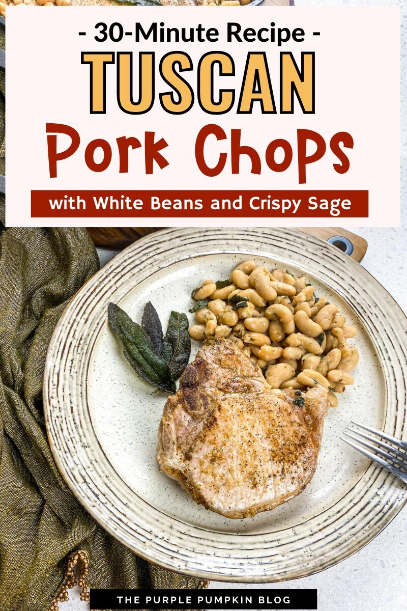 30-Minute Recipe for Tuscan Pork Chops