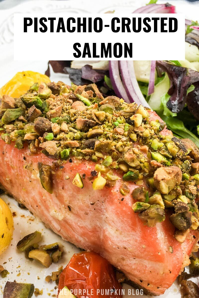 Amazing Pistachio-Crusted Salmon