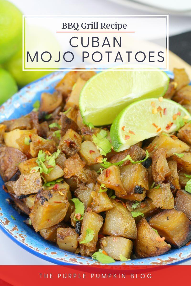 BBQ Grill Recipe for Cuban Mojo Potatoes