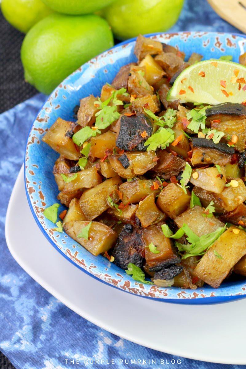 BBQ Grilled Cuban Mojo Potatoes