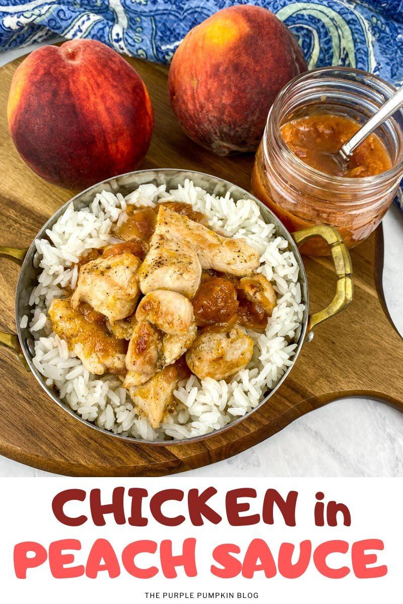 Chicken in Peach Sauce