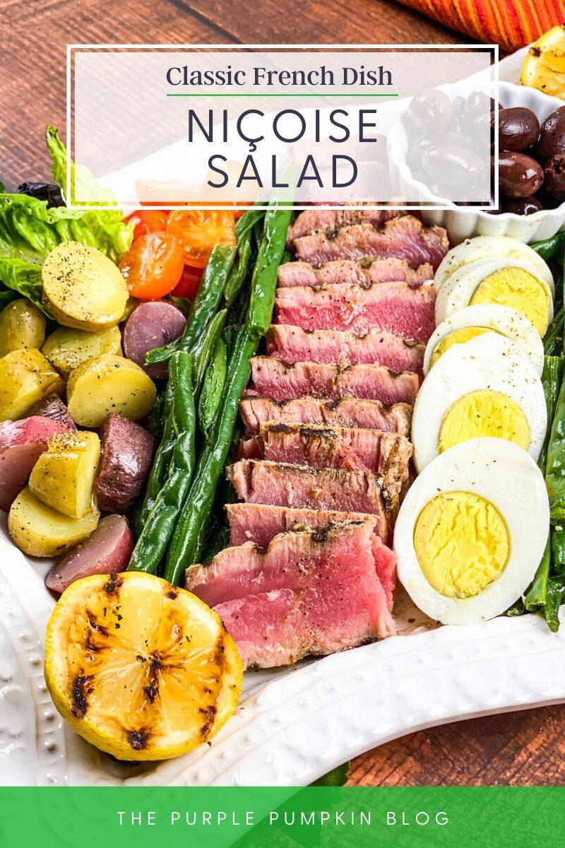 Classic French Dish - Niçoise Salad