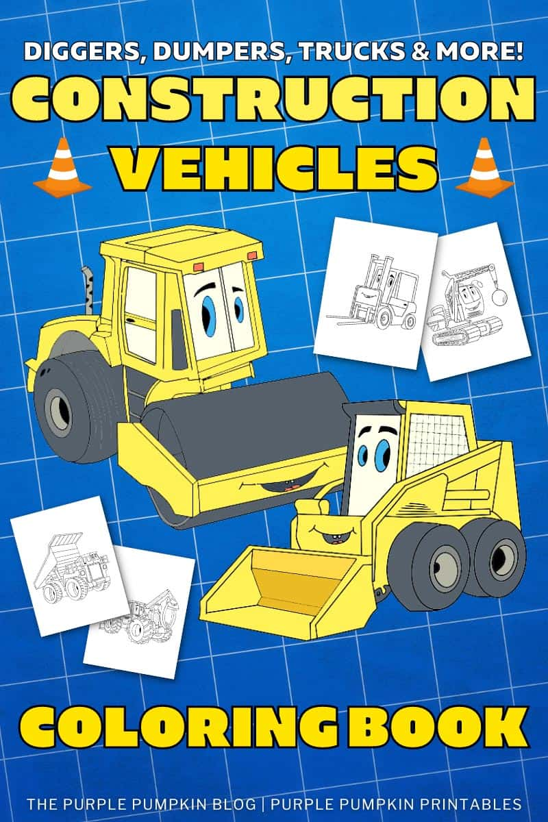 Construction-Vehicles-Coloring-Book