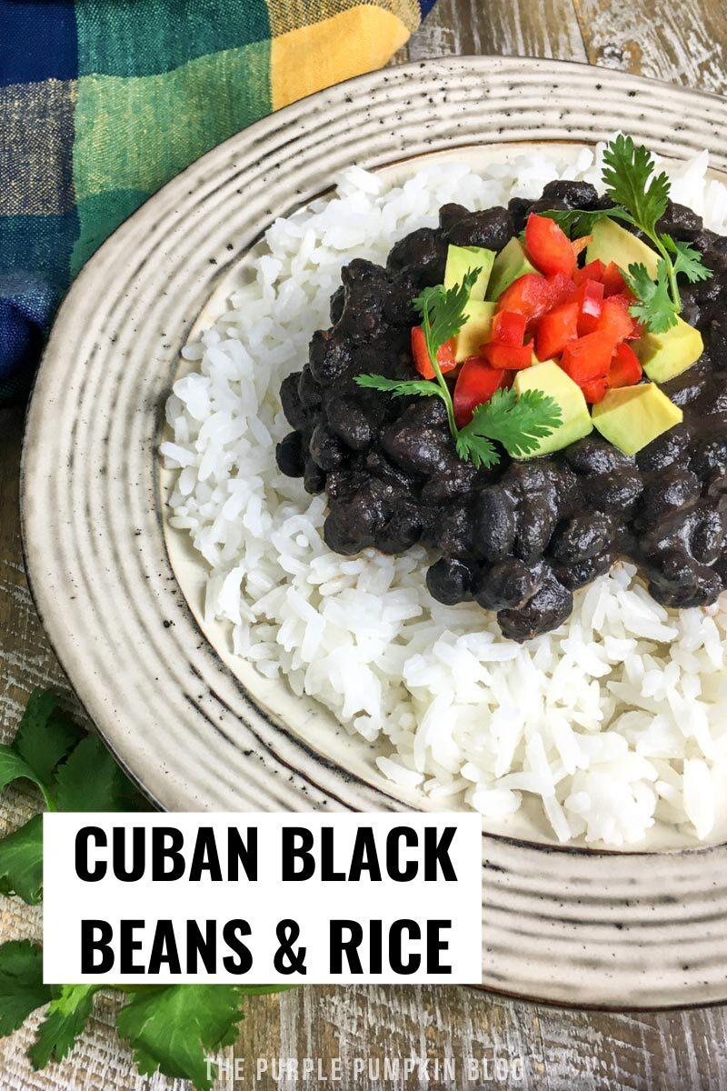 Cuban Black Beans & Rice