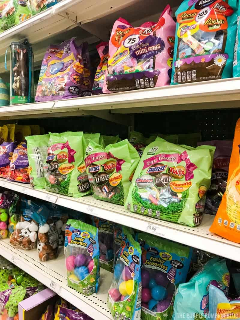 Easter Candy at Super Target