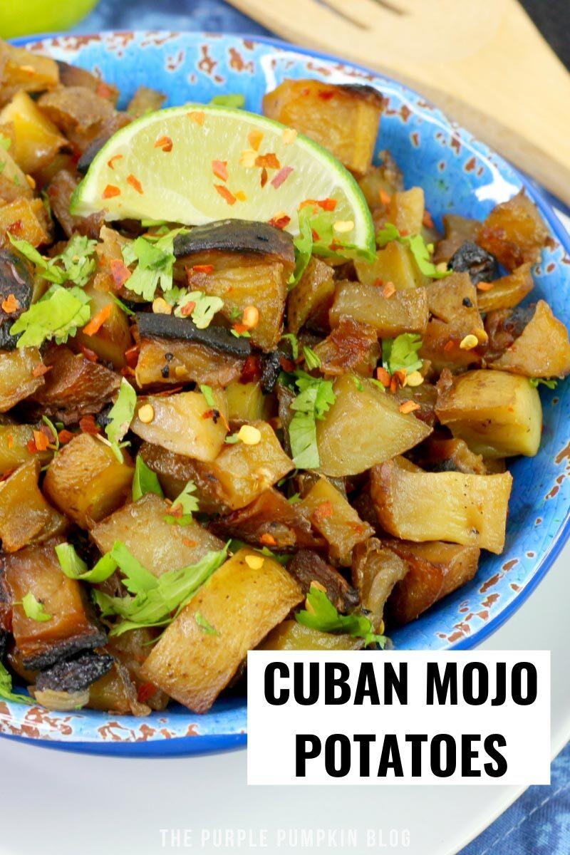 Easy Cuban Mojo Potatoes
