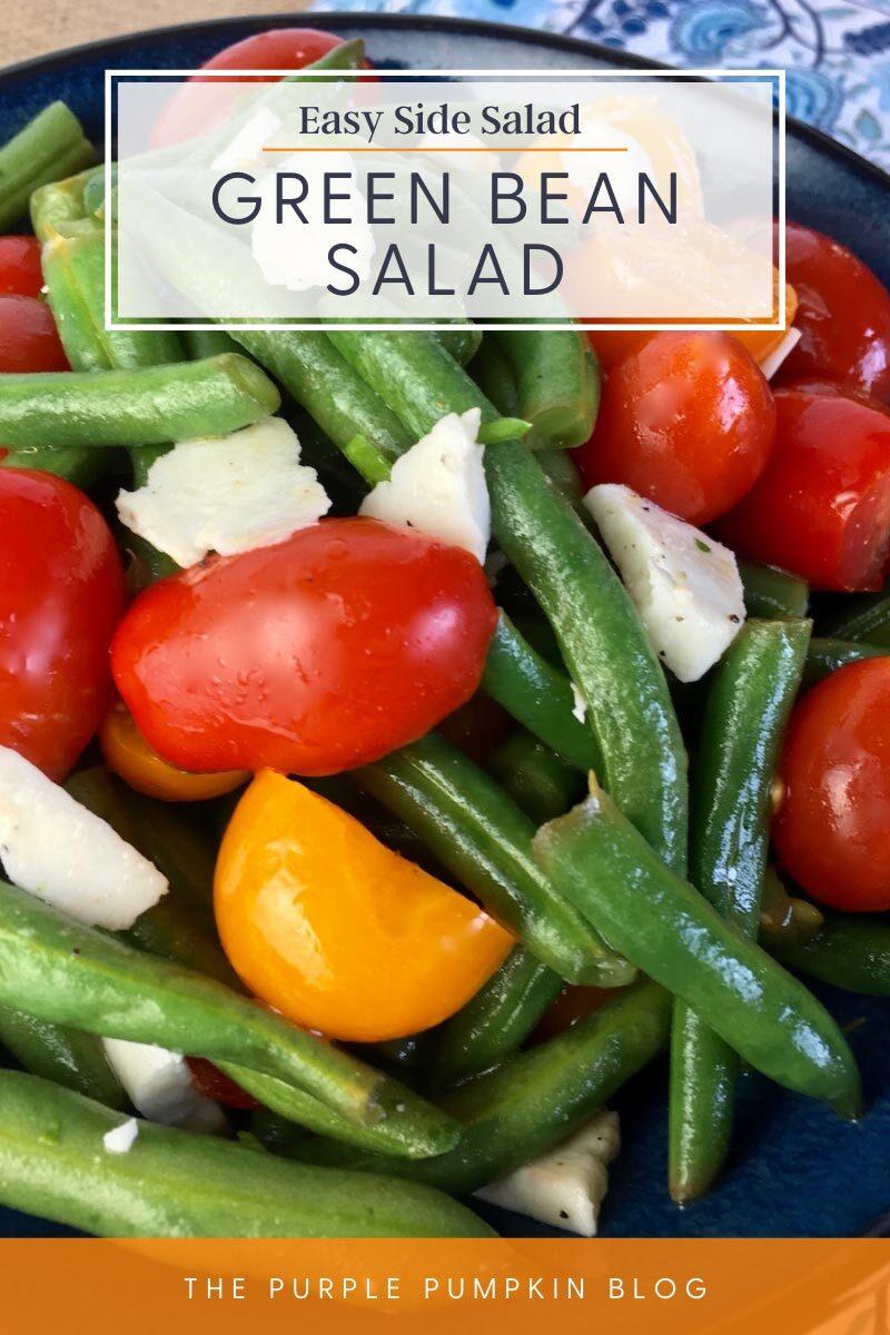 Easy Side Salad - Green Bean Salad