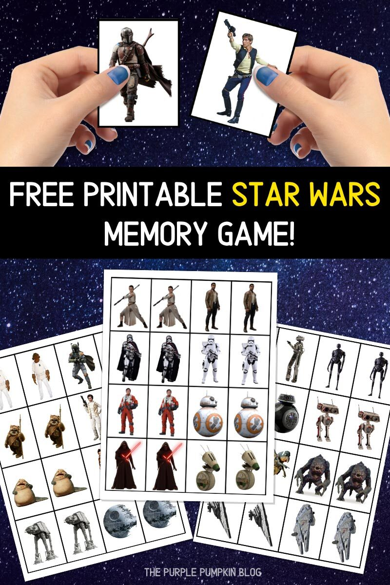Free Printable Star Wars Memory Game