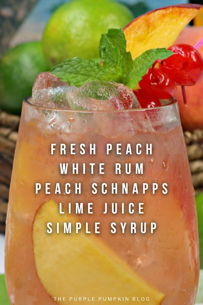 How To Make Cuban Peach & Rum Cocktails