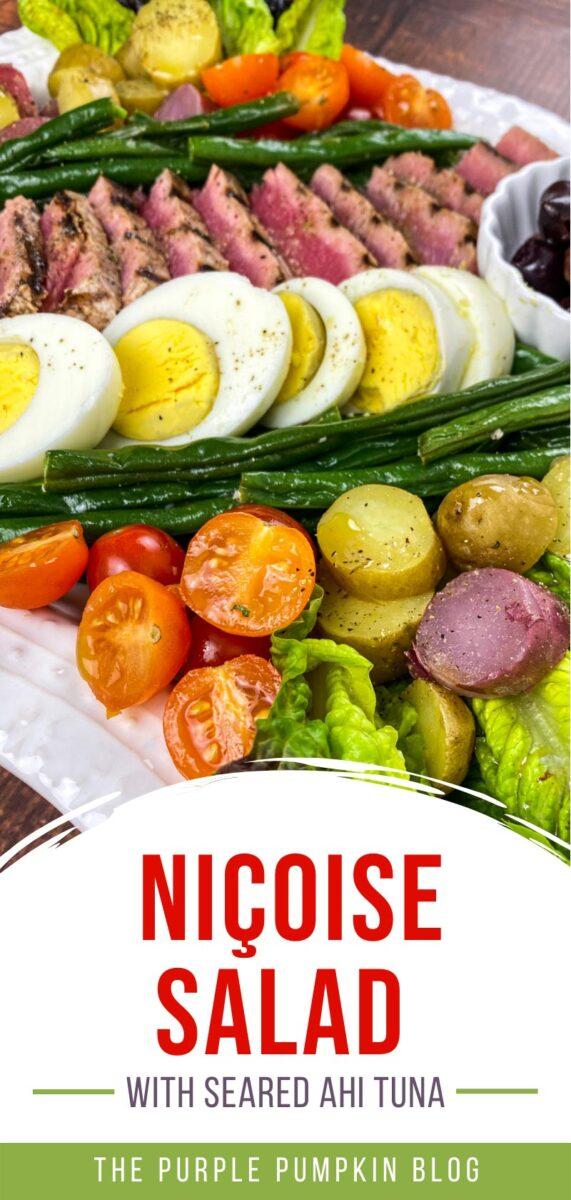 How to Make a Nicoise Salad with Seared Ahi Tuna