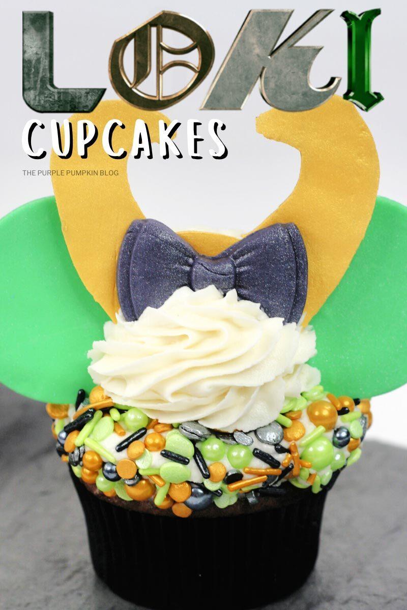 Amazing Loki Cupcakes