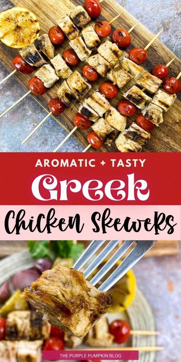 Aromatic & Tasty Greek Chicken Skewers