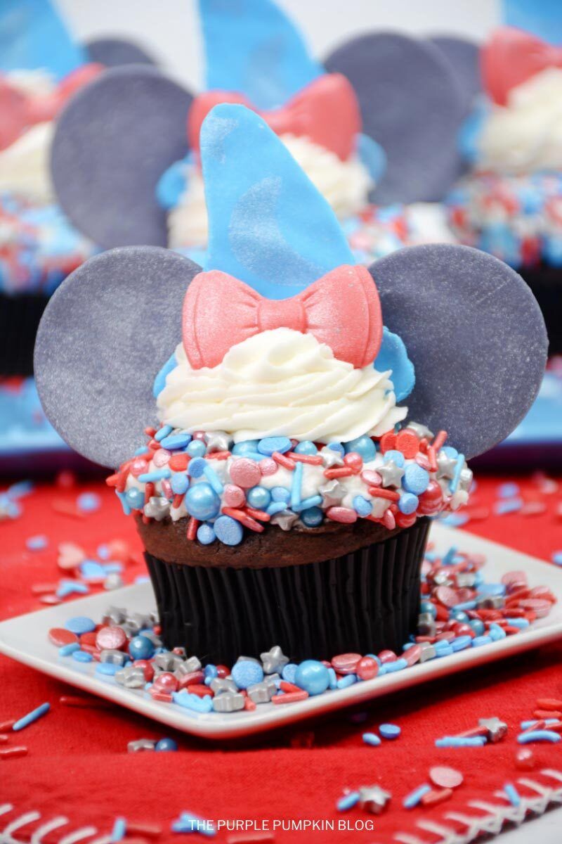 Awesome Sorcerer Mickey Cupcakes