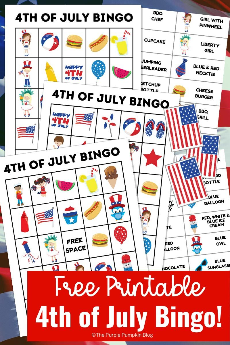Free Printable 4th of July Bingo