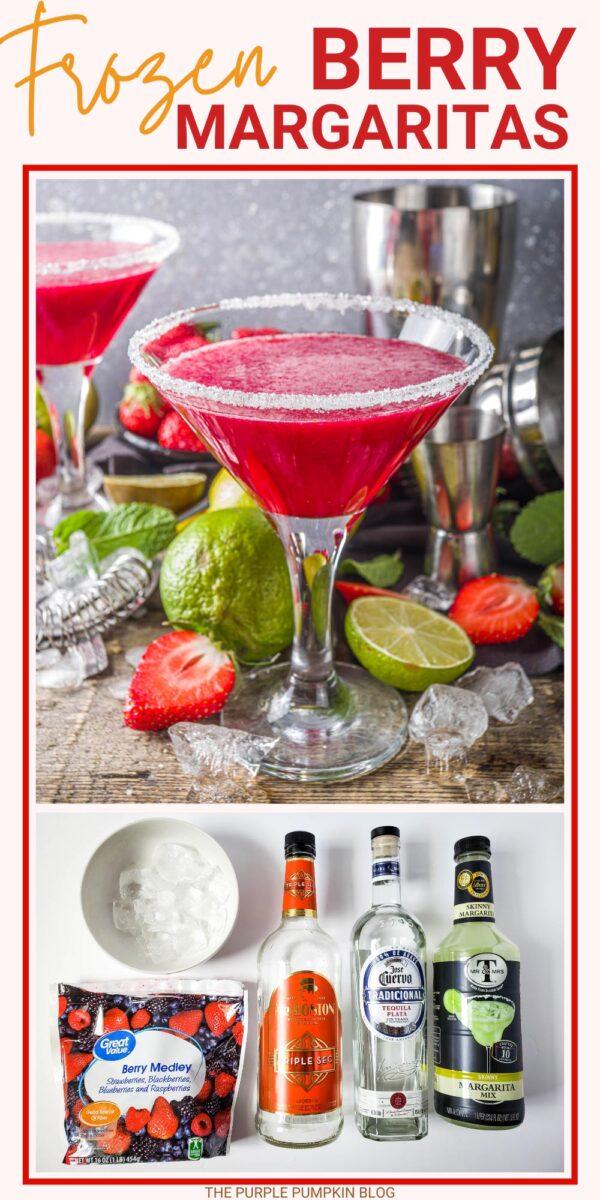 Frozen Berry Margaritas